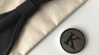 【ダイソー】新商品☆キラキラストーンがかわいい♡イニシャルコンパクトミラー