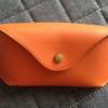 ダイソーでヌメ革風のサングラスケースを購入しました