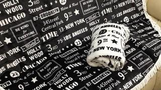 しまむら新商品 おしゃれでかわいいラウンド毛布