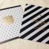 セリア新商品☆とってもオシャレなモノトーンの色紙を購入しました