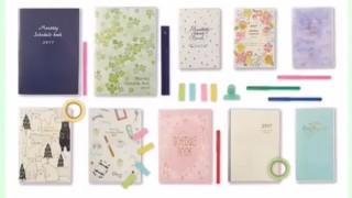 ダイソー新商品 オシャレでかわいい!10月始まりの家計簿・スケジュール帳