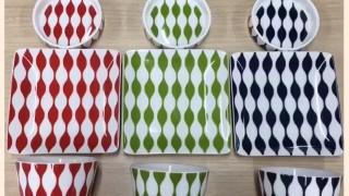 ダイソー新商品 北欧風デザインがオシャレ!そばちょこ&薬味皿