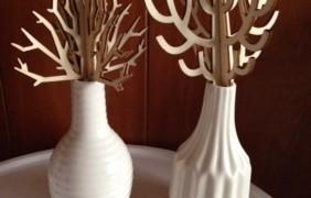 お部屋のインテリアに☆ダイソーのアロマ用ウッドツリーを購入しました