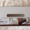 ニトリで真っ白シンプルなティッシュケースを購入しました