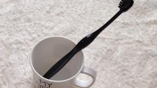 ダイソーで真っ黒な歯ブラシを購入しました