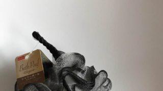 【ダイソー】とってもオシャレ☆白黒モノトーンなボディスポンジを購入しました♪