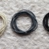 グレー色もあり!ダイソーでモノトーンな輪ゴムを購入しました