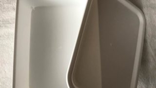 セリア新商品☆フタ付きプラBOXの浅型を購入しました