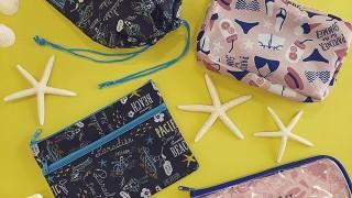 キャンドゥ新商品 夏にピッタリのおしゃれポーチ