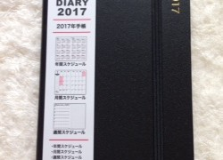 ダイソーのモレスキンそっくりの手帳「ダイスキン」を購入しました