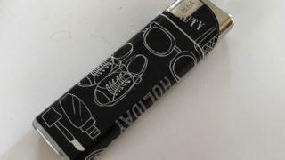 【セリア】手書き風イラストがとってもオシャレなライターを購入しました♪