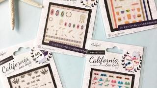 キャンドゥ新商品 カリフォルニア ネイルシール