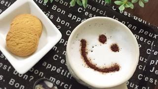 キャンドゥ コーヒーステンシル&トレイ
