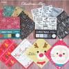 セリア新商品 クリスマスアイテム「デザインペーパー・ペーパーナプキン」