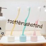 ちょっとしたインテリアに♪ダイソー人気商品 歯ブラシスタンド