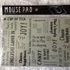 セリア新商品 ロゴ柄がとってもオシャレなモノトーンなマウスパッドを購入しました