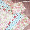 セリア新商品 かわいい花柄のデザインペーパーとラッピングペーパー