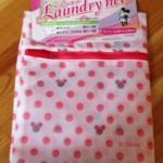 ダイソーでディズニー柄の洗濯ネットを購入しました