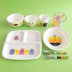 キャンドゥ新商品 カラフルでポップでかわいい!ねことくまの子ども食器シリーズ