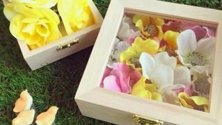 キャンドゥ新商品 木製ディスプレイボックス