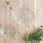 キャンドゥ新商品 ガラスのテーブルウェア