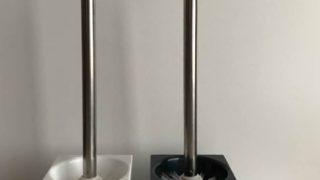 【ダイソー200円トイレブラシ】がシンプル&スタイリッシュでおしゃれ☆