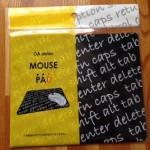 セリア新商品 手書き柄のマウスパッドを購入しました