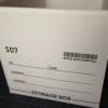 100円ショップ ワッツのストレージボックスを購入しました