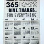 【セリアのリネン風カレンダー】がオシャレでカッコ良くて使える♡