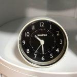 ダイソー☆モノトーンでシンプルな置き時計を購入しました