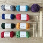 キャンドゥ新商品 秋冬のハンドメイドに!ふわふわ毛糸&ほっこりカラー毛糸
