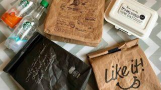 【ブラックも登場!】キャンドゥ「紙袋風ランチバッグ」の新商品☆