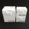【キャンドゥ】にもあります☆真っ白な取っ手付きボックス&フルーツ柄のドリンクボトル