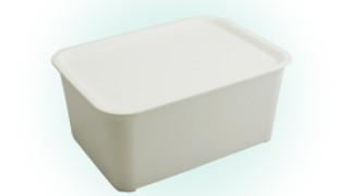 セリアの今チェックしておきたいおすすめ商品☆フタ付きプラBOX ホワイト