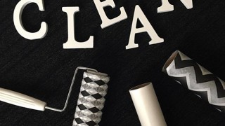 キャンドゥ新商品 おしゃれ!モノトーンなカーペット用強粘着 シェブロン柄&ダイヤ柄